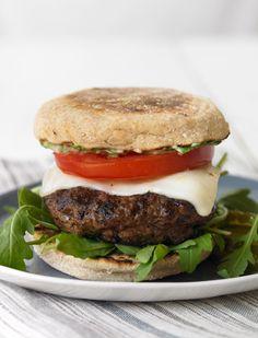 Caprese Burger #BiggestLoser
