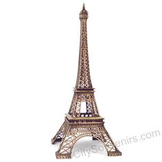 CitySouvenirs.com - 15 Inch Eiffel Tower Statue Home Decor Paris Souvenir(http://www.citysouvenirs.com/15-inch-eiffel-tower-statue-home-decor-paris-souvenir/) Large Eiffel Tower replica statues from Paris, France.  A great home decor piece for the living room, dining room or bedroom.