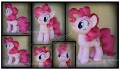 Pinkie Pie Custom Plush by Nazegoreng.deviantart.com on @deviantART