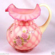 Fenton Burmese Art Glass