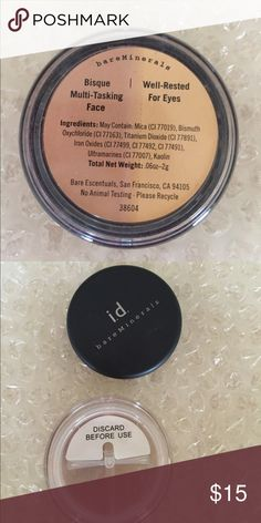 Bisque multi tasking face/well rested for eyes Brand new never opened bareMinerals Makeup