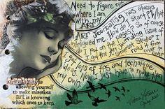 Art Journal Page Ideas   Shannon's Studio