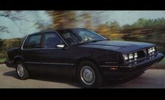 1985 Pontiac 6000STE one of Car & Driver's 10Best Cars for the year. It sounded great and was a surprisingly fun to drive sedan.