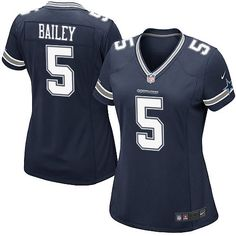 c6761bd046b Women's Nike Dallas Cowboys #5 Dan Bailey Limited Navy Blue Team Color NFL  Jersey Sale