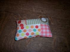 Mrs.T's Christmas Kitchen: Purse size tissue holders -- fun little stocking stuffers to make now!