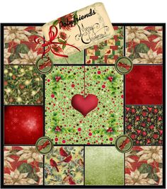 """Christmas Quilt"" by telynor on Polyvore"