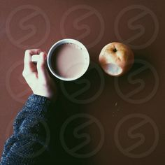 Photo by Beth Beeson - brown, filled, ceramic, cup #coffee