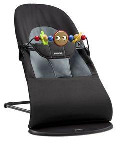 superbe Transat Balance Soft de Babybjörn, le choix d'un bercement amusant!