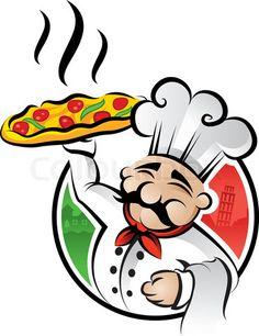 Clip Art Italian Food Clipart pizza delivery little caesars stole it pinterest cars happy italian chef