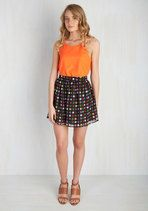 You're Fun-Believable Mini Skirt | Mod Retro Vintage Skirts | ModCloth.com