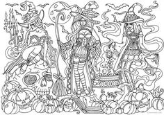 Witches WITCH Coloring PagesPrintable
