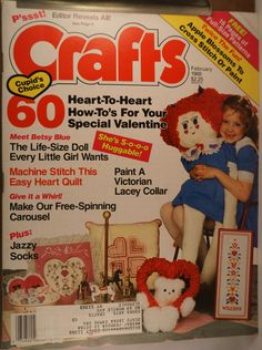 https://flic.kr/p/v4S7c2 | Crafts Feb 1988 | $6.00 each plus Shipping.