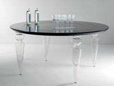Large Family Size Round Table With Lazy Susan In The Middle. LOVE IT!   Lazy  Susan   Tables, Etc   Pinterest