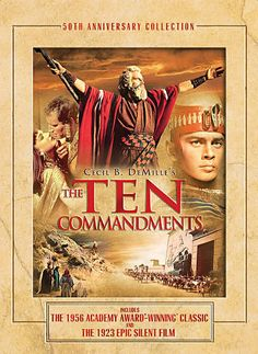 The Ten Commandments  1956...seriously one of my favorite movies...i Dunno why lol