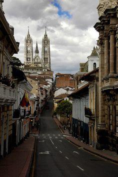 El Centro de Quito/Quito antiguo. Quito, Ecuador