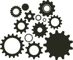 gears clipart | DIY Steampunk | cogs