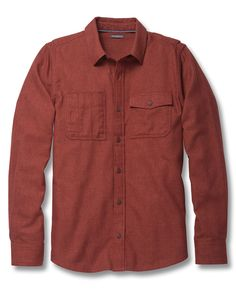 Men's Alverstone Long Sleeve Shirt | Recycled Cotton and Polyester Shirt by Toad&Co