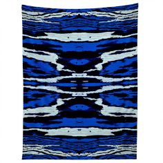 Caleb Troy Royal Coal Splinters Tapestry | DENY Designs Home Accessories