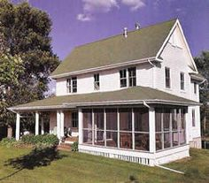 House Plans - Home Plan Details : Field of Dreams 2 Pole Barn House Plans, Pole Barn Homes, Dream House Plans, Small House Plans, Modern Farmhouse Exterior, Farmhouse Plans, Farmhouse Style, American Farmhouse, Old Farm Houses