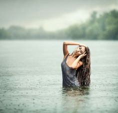 Photo Spring Rain by E. Studio on // steffany, love this pose for the water shoot - coming out and stuff -sarah Rain Photography, Boudoir Photography, Portrait Photography, Photography Ideas, Portrait Inspiration, Photoshoot Inspiration, Water Shoot, Jolie Photo, Boudoir Photos