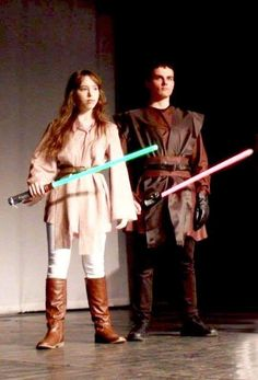 We as Star Wars characters with my boyfriend ^w^