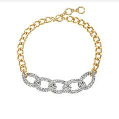 Jlo Chain Link Taggle Necklace