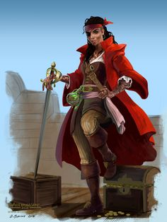 A place to share and appreciate fantasy and sci-fi art featuring reasonably portrayed women. Character Concept, Character Art, Character Design, Character Ideas, Character Portraits, Concept Art, Fantasy Characters, Female Characters, Medieval