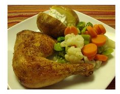 German Oven Fried Chicken, easy and delicious