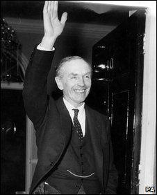 Sir Alec Douglas-Home. Conservative Prime Minister 1963-1964.