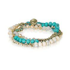 Wrap bracelet #chloeandisabel  https://www.chloeandisabel.com/boutique/mollyecraterfield
