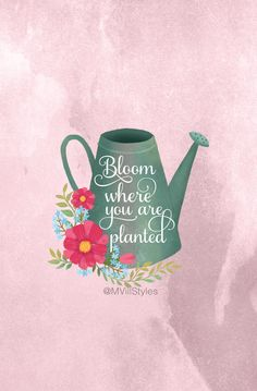 Bloom Where You Are Planted Summer Wallpaper June Freebies iPhone Wallpaper Inspirational Wallpapers, Cute Wallpapers, Iphone Wallpapers, Desktop, Cupcakes Wallpaper, Bloom Where You Are Planted, Summer Wallpaper, Phone Backgrounds, Cute Quotes