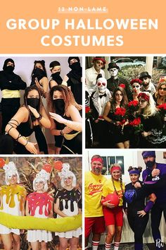 Dodgeball - Average Joes v Global Gym 13 Non-Lame Group Halloween Costumes for Your Squad ideas Funny Group Costumes, Best Group Halloween Costumes, Homemade Halloween Costumes, Halloween Costume Contest, Halloween Outfits, Easy Costumes, Zombie Costumes, Halloween Ideas, Halloween Couples