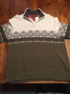 Tommy Hilfiger Men's Lambswool Sweater!!!  Vintage XL Extra large Free Shipping #TommyHilfiger #Pullover