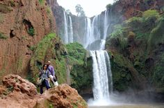 Grand Atlas village of Tanaghmeilt Azilal province, Morocco Tourism, Morocco Travel, Visit Morocco, Tourist Places, Beautiful Places To Visit, Holiday Destinations, Marrakech, Where To Go, Waterfalls