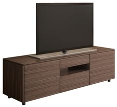 Australian designed compact entertainment unit from Australian Home Living. Walnut veneer finish with a black interior. High quality hardware and fittings.