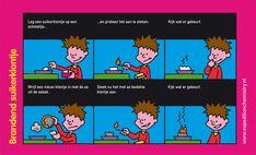 Brandend suikerklontje, leuk proefje voor kinderen op de basisschool!
