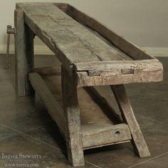 Antique Carpenter's Workbench