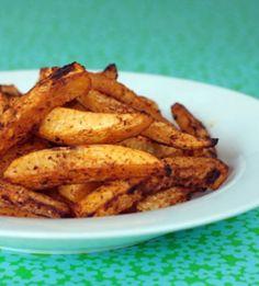 Φανταστικές ψητές πατάτες σαν τηγανητές και με λιγότερες θερμίδες!