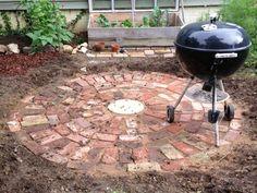 brick patio ideas - Google Search