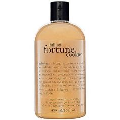 Philosophy Full Of Fortune Cookie™ Shampoo, Shower Gel & Bubble Bath 16 oz . $22.00
