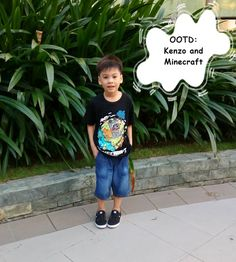 OOTD: Kenzo and Minecraft | Dear Kitty Kittie Kath- Beauty, Fashion, Lifestyle, and Mommy Blog
