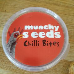 A great and #healthy #snack. Love #munchy #seeds chilli bites
