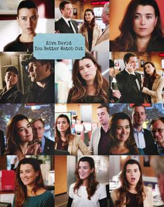 Ziva David in NCIS 10x10 You Better Watch Out