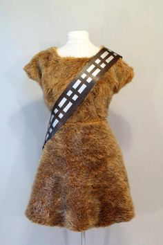Wookiee dress! Want this for my wife!