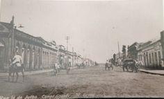 A Rua 14 de Julho era assim... Há muito tempo atrás. #HistoriadoMS #CG115anos