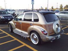 custom pt cruiser | View photo of Custom Chrysler PT Cruiser Woody - 836KB