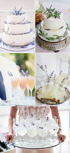 45 Romantic Ways to decorate your wedding with lavender -Treats!