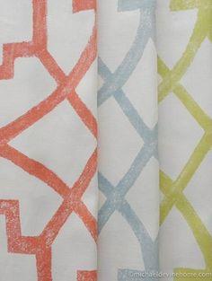 Fretwork -- Michael Devine Hand Printed Fabrics
