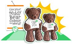 Bears For Humanity - A wonderful idea - caring about people & the environment.