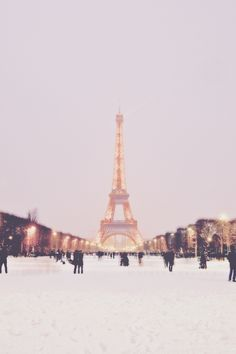 paris in the winter